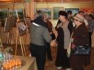 Miłośników sztuki nie  zabrakło na otwarciu wystawy